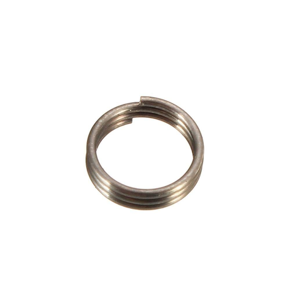 50 //100 Professional Edelstahl Dart Shaft Ring Runde Set Dart Accessoires ED