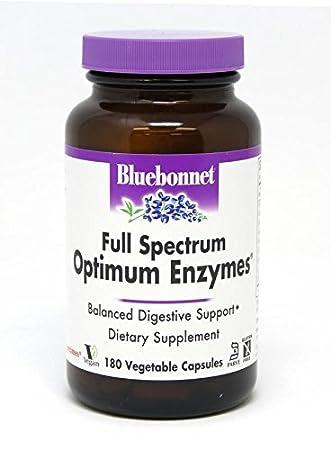 Amazon.com: Bluebonnet espectro completo Optimum enzimas ...