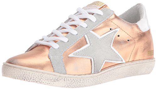 Freebird Women's 927 Fashion Sneaker, Rose Gold, 9 M US by Freebird by Steven
