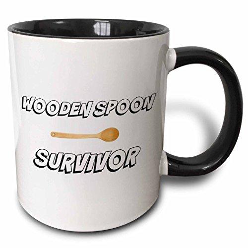 3dRose mug 220113 4 Wooden Survivor Picture
