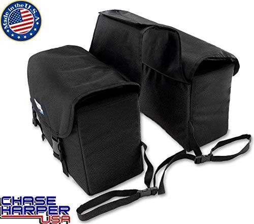 (Chase Harper 3775 Phoenix Black Saddle Bag - 21.2)