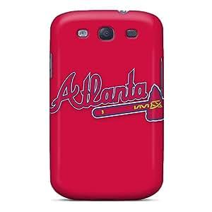 AlissaDubois Samsung Galaxy S3 Shock Absorption Hard Cell-phone Cases Allow Personal Design Vivid Baseball Atlanta Braves 6 Series [VKp1795mVYm]