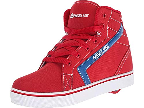 Heelys Shoes Wheels - Heelys Boy's GR8R Hi (Little Kid/Big Kid/Adult) Red/Royal 13 M US Little Kid