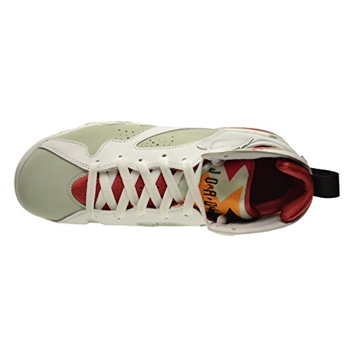 Nike Air Jordan 7 Retro BG Zapatillas de baloncesto, Niños white/true red-lght slvr-trmln