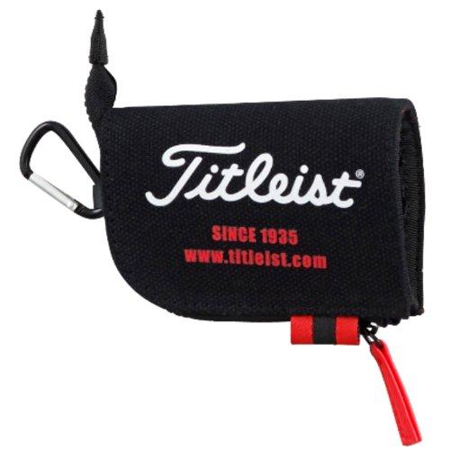 Titleist Golf Tee Case Small Pouch bag 2014 Model AJTE42 Black