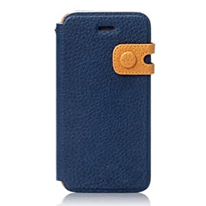 [Japanese authorized agent product] zenus iPhone5S / 5 case Masstige Color Edge Diary navy diary type strap Z1400i5 (japan import)