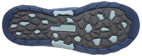 Merrell CAPRA MID WTPF - botas de senderismo de cuero niña Multicolor (TURQ)
