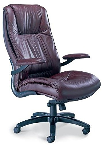 High-Back Swivel / Tilt Office Chair with Arms Finish: - Mayline Desk Traditional