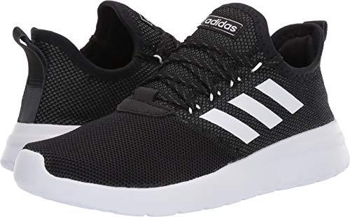 adidas Men's Lite Racer Reborn, Black/White/Grey, 7 M ()