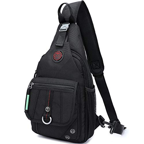 Sling Bags, iPad Chest Shoulder Backpack Crossbody Bag One Strap Daypacks Outdoor Travel for Kindle Men Women