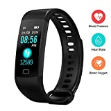 Best Cheap Fitness Trackers - Mojo Fitness Tracker with Heart Rate Color Screen Review