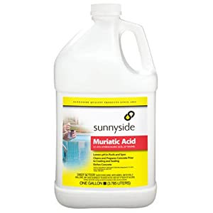 Sunnyside Corporation 710g1 1 Gallon Muriatic Acid Household Paint Solvents