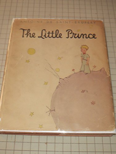 The Little Prince - Antoine De Saint Exupery - First Trade Edition - 4th Avenue Address on DJ Flap (Antoine De Saint Exupery Le Petit Prince)