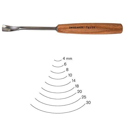 PFEILSwiss Made 18mm #7 Sweep Spoon Gouge