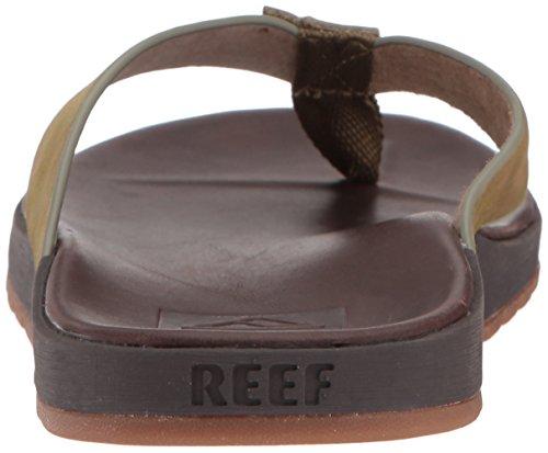 Reef Man Contouring Viaggio Le Sandalo Marrone Scuro / Mimetico