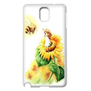 Good mood with sunflower Case Cover Best For Samsung Galaxy NOTE3 Case Cover KHR-U549460