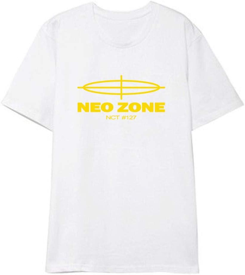 Fittrame NCT 127 Merchandise Clothes New Album NEO Zone T-Shirt Kpop Short Sleeve Shirt