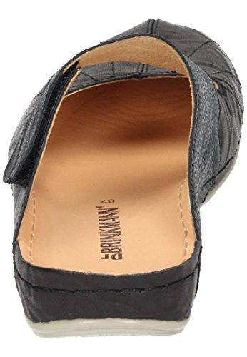 Brinkmann Damen Pantolette Schwarz 701104 1 Schwarz Dr gFxw6x