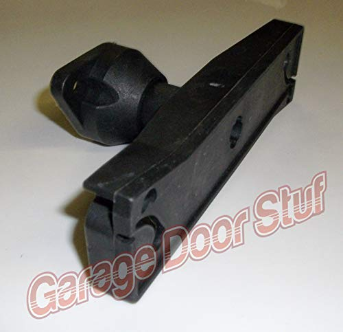 (Garage Door Lock-Inside Release Handle- Black Plastic Direct Replacement)
