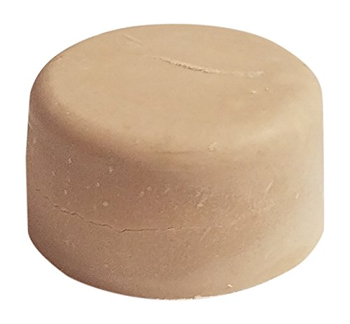 Shave Puck, Nourishing , Moisturizing and Foaming Shave Bar for Women, Strawberries and Cream Scent by Diva Stuff