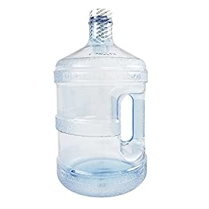 1 Gallon Plastic Water Bottle W/Handle