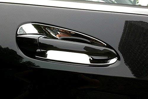 Chrome Door Handle Inserts Cup trim Fit For Mercedes-Benz C W204 GLK X204 ML GLE GL GLS Class W166 X166 2013 2014 2015 2016 2017 2018