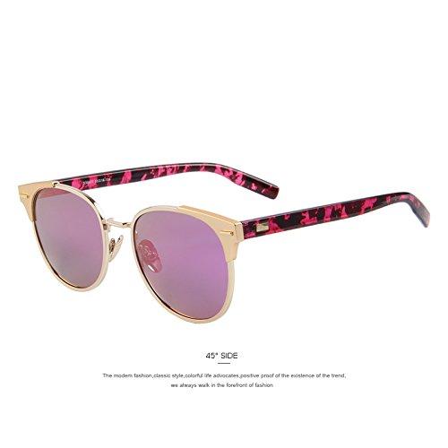 Purple de sol sol Azul de de hombres mujer C04 Unisex de TIANLIANG04 C03 la gafas Classic gafas Remache polarizadas wnYzU