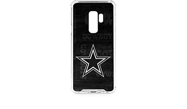 Amazon.com: Skinit Dallas Cowboys Black & White Galaxy S9 Plus Clear Case - NFL - Skinit Clear Case - Transparent Galaxy S9 Plus Cover: Cell Phones & ...