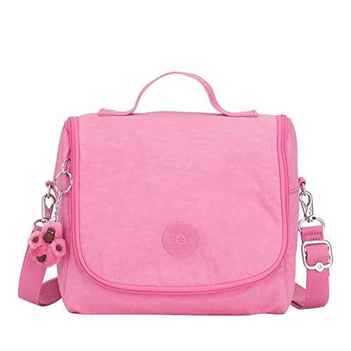 Kipling Kichirou Lunch Bag One Size Posey Pink - Fully Cotton Bag Lined Shoulder