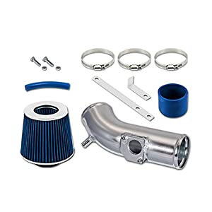 RL Concepts Blue Short Ram Air Intake Kit + Filter 10-12 Mazda 3 with 2.5L L4