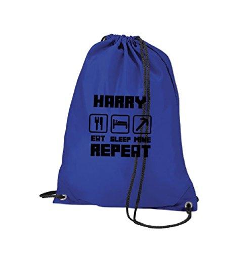 bolso Blue única talla Personalized personaliseitonline mi la Blue escuela Talla Royal solapa dormir Personalized bolsa mochila Royal Comer Tq61YwZ