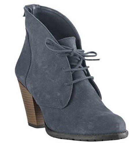 Best Connections Stiefelette - Zapatos de Cordones de cuero Mujer azul - azul