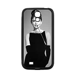 Custom Audrey Hepburn Back Cover Case for SamSung Galaxy S4 I9500 JNS4-319 by lolosakes