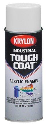 (Krylon Industrial Tough Coat 00210 Old Cat Yellow Gloss Acrylic Enamel Paint - 16 oz Aerosol Can - S01321000 [PRICE is per CAN])