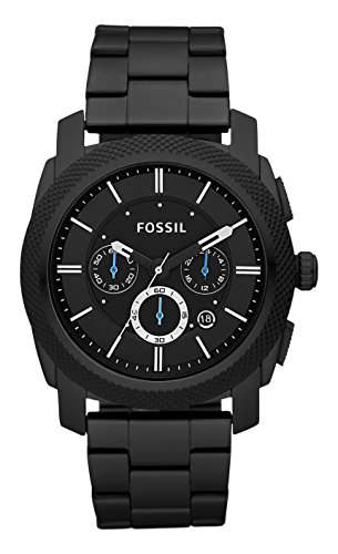 7539ac585ca5 Aeropost.com Guatemala - Fossil Mens Machine Quartz Stainless Steel  Chronograph Watch Color Black (Model FS4552)