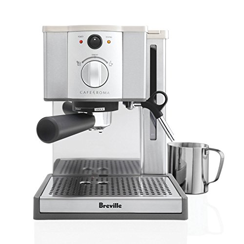 , Mr. Coffee 4-Cup Steam Espresso System with Milk Frother