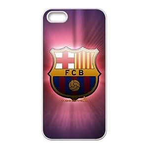 Barcelona Football iPhone 5 5s Cell Phone Case White Fantistics gift XVC_271252