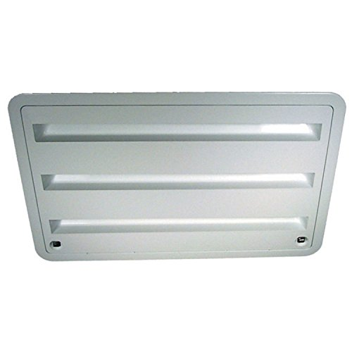 Dometic 3109350.011 Refrigerator Vent - Lower Sidewall Vent, Polar White