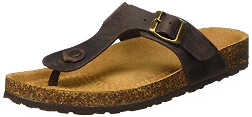 BATA Men's 8664239 Flip Flops Brown (Marrone 4) l6Wqr