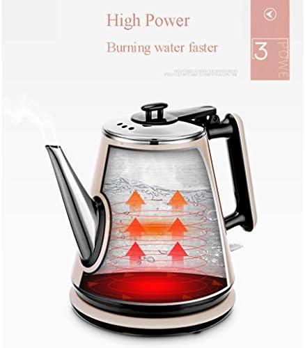 1 0 l Wasserkocher mit großer Kapazität für Tee und Kaffee mit Edelstahlmaterial 1360W Braun