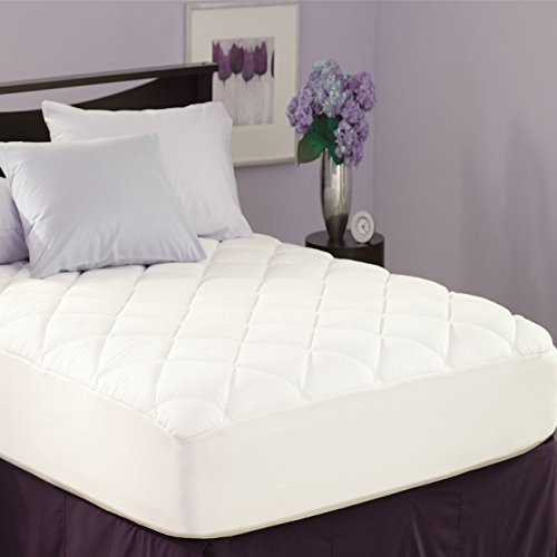 UPC 025521762503, Spring Air Stain Protection Mattress Pad - Twin