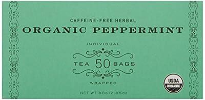 Harney & Sons Organic Peppermint Tea 80g / 2.85 oz (50 Tea Bags)