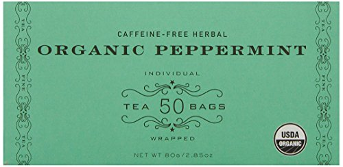 Harney & Sons Organic Peppermint Tea 80g / 2.85 oz (50 Tea Bags) -