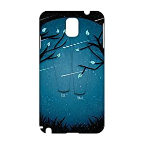 Cool-benz Meteor moon swing beautiful scenery 3D Phone Case for Samsung Galaxy Note3
