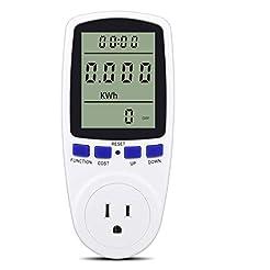 Digital Power Monitor Meter Usage Saving...