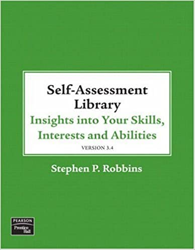 Self assessment library 34 stephen p robbins 8580000611168 self assessment library 34 stephen p robbins 8580000611168 amazon books fandeluxe Choice Image