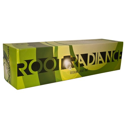Root Radiance Seeding & Germination Heat Mat, 48 x 20.75'', Black
