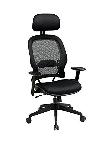 OSP55403 – Space Air Grid Series High-Back Chair w Headrest