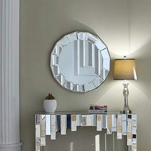 WENWEN Mirror Modern Minimalist Wall-Mounted Multi-Faceted Vanity Mirror for Bathroom Or Bathroom -