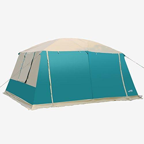 HWZPHH Tienda de Campaña para 4 Estaciones, 2 Habitaciones, 210D, Oxford, Doble Capa, 12 Personas, para Camping, al Aire Libre, Verde: Amazon.es: Deportes y aire libre